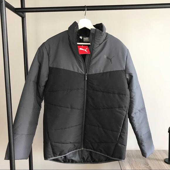 4506372c12ed Puma NEW men s ESS padded puffer jacket black